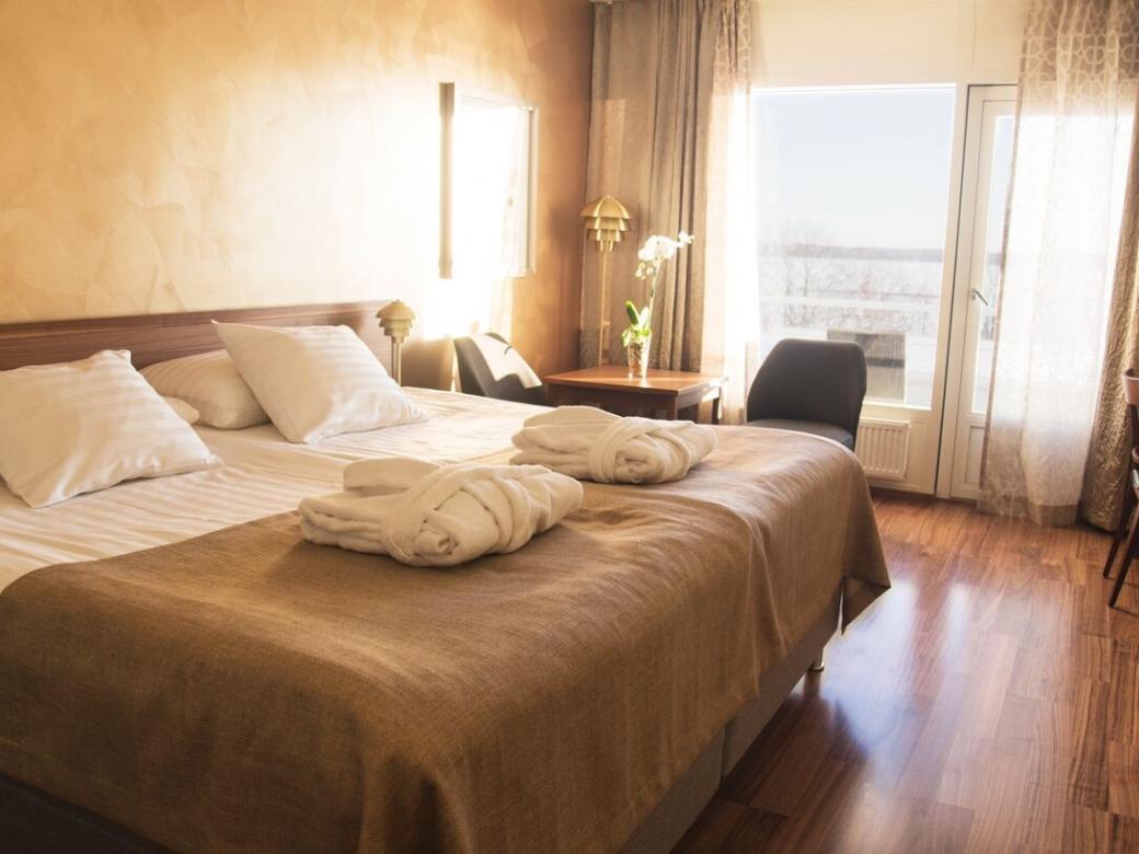 Superior dubbelrum på Hotell Arkipelag.